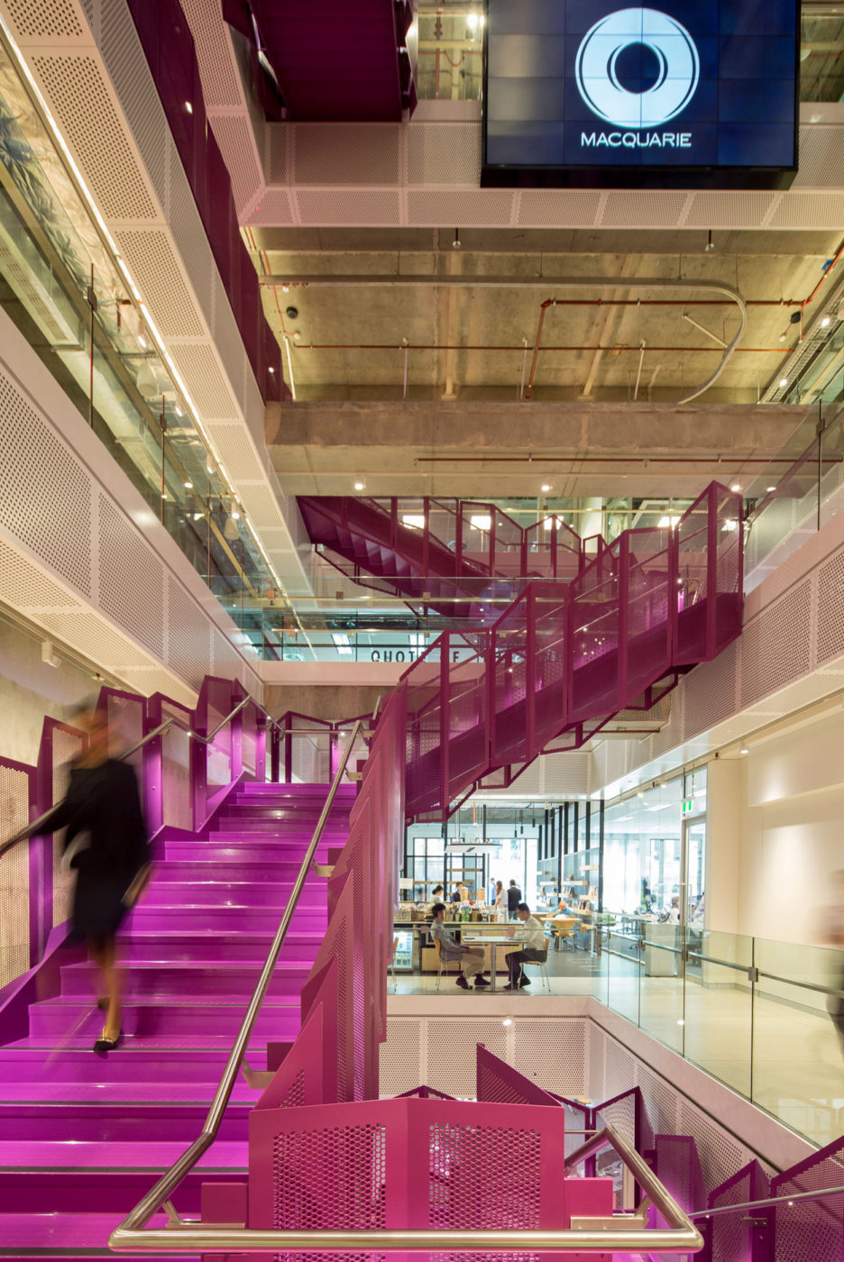Steel Staircase | Macquarie Bank 1MP | Active Metal 02