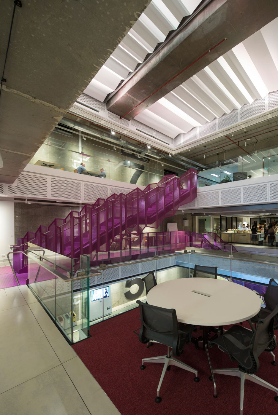 Steel Staircase | Macquarie Bank 1MP | Active Metal 12