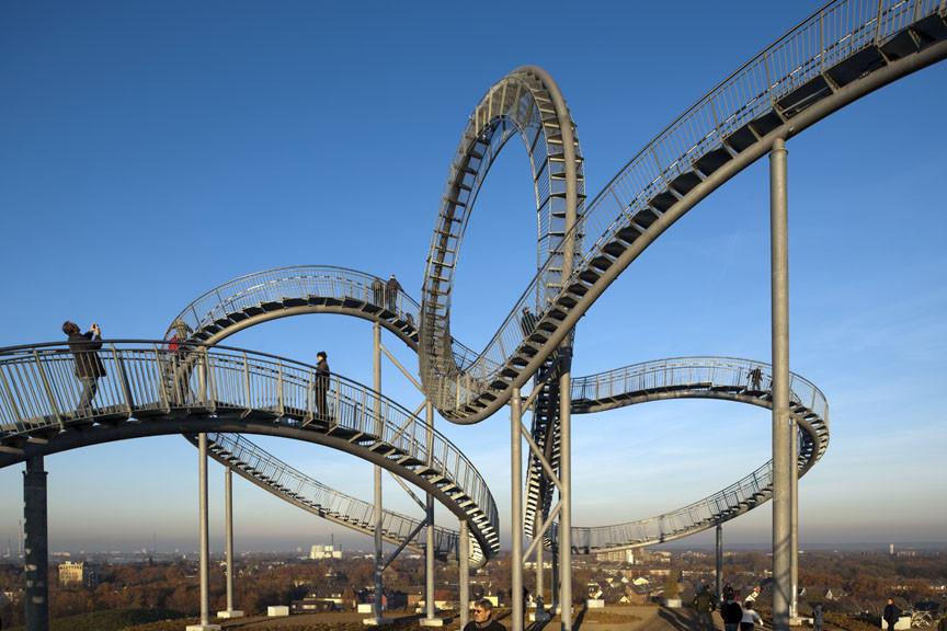 Flying Rollercoaster Staircase