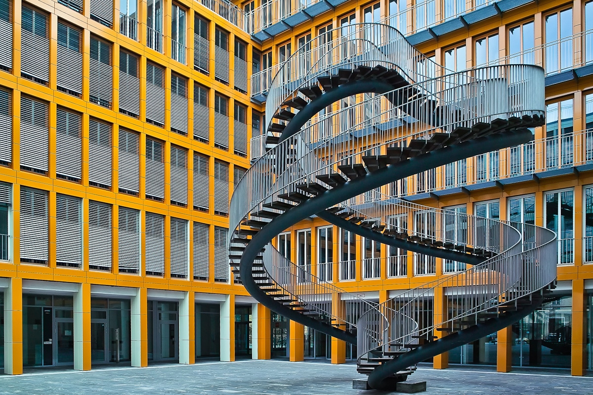 Spiral Staircase to Nowhere