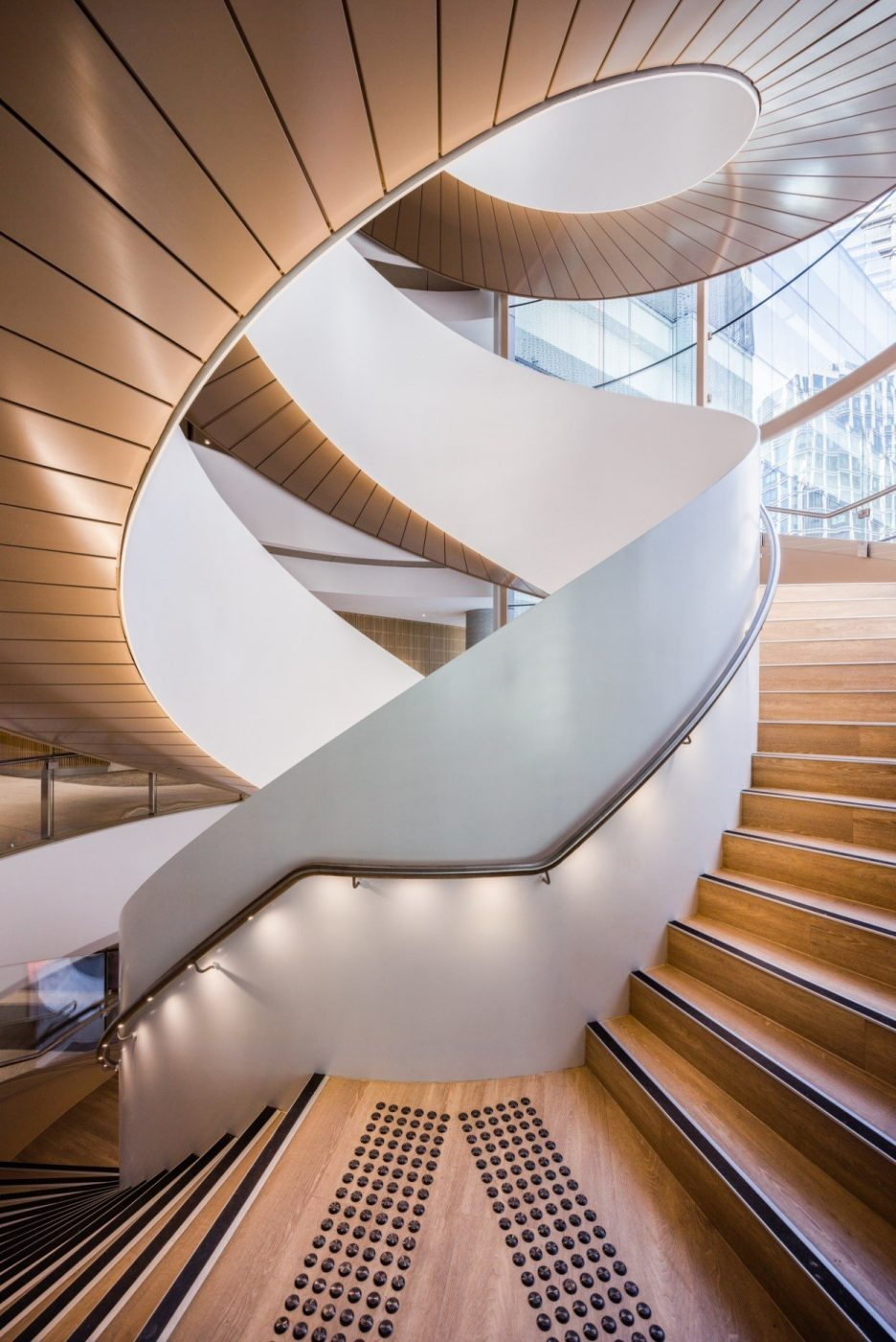 Steel Spiral Stair | UTS Central Double Helix | Active Metal 03