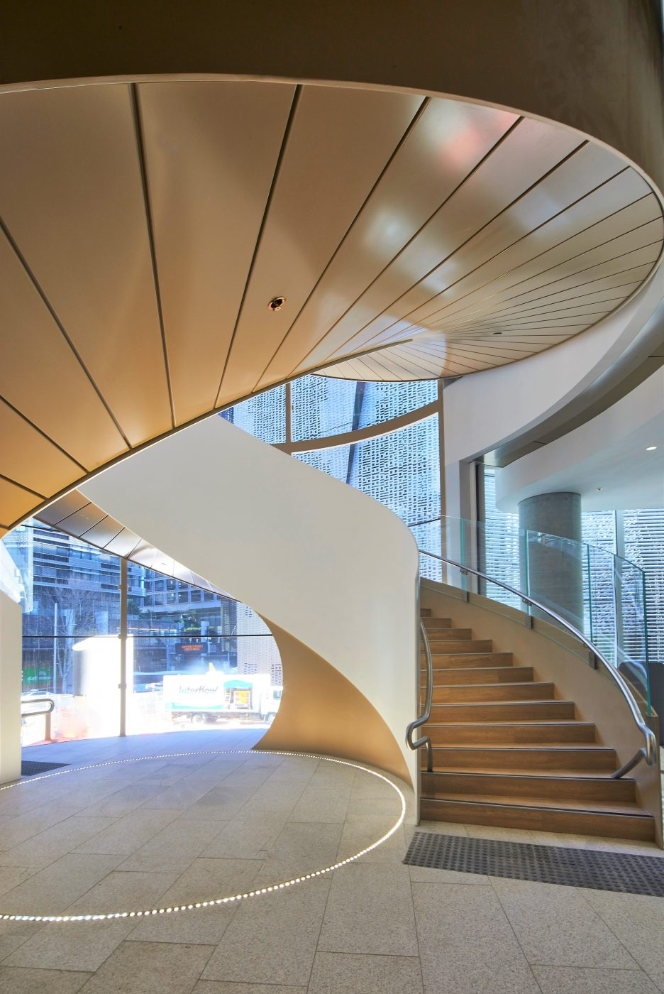 Steel Spiral Stair | UTS Central Double Helix | Active Metal 02