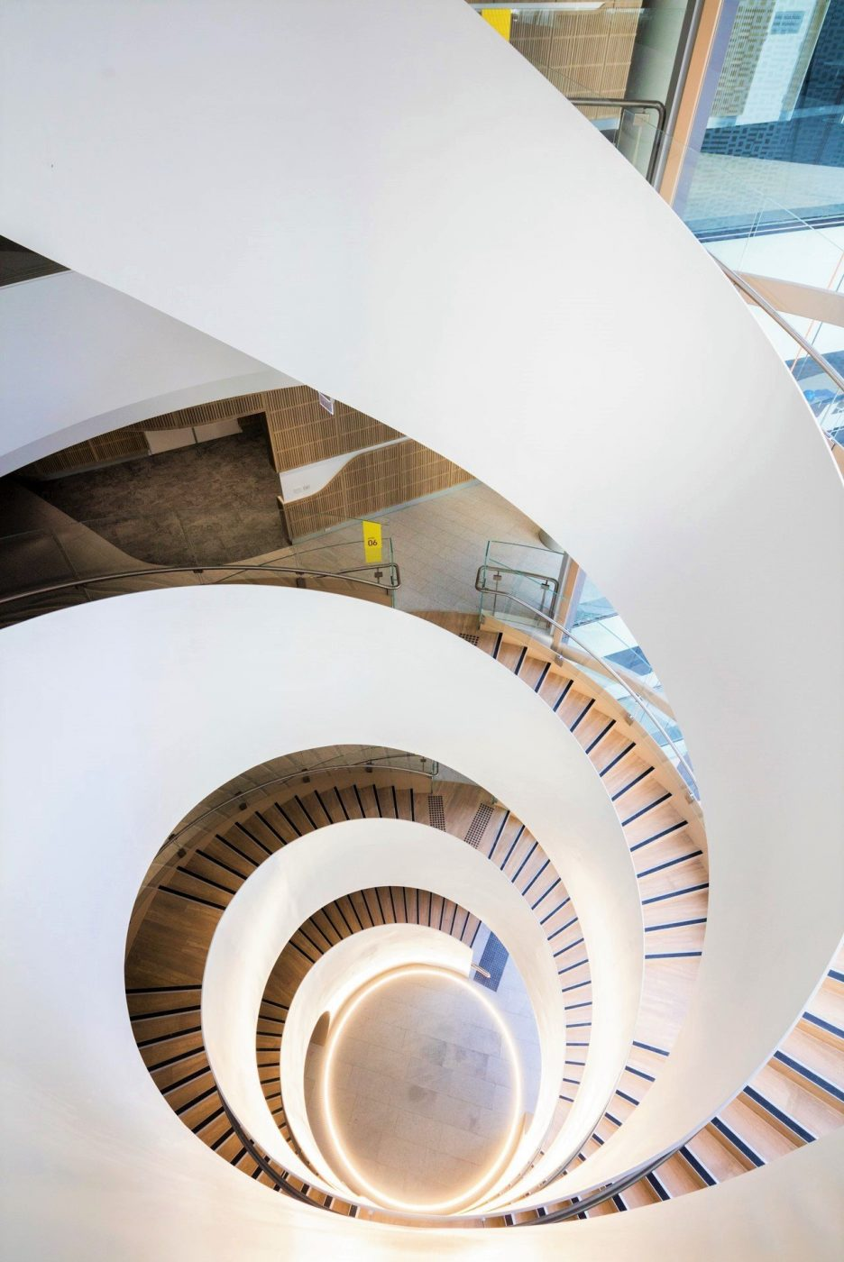 Steel Spiral Stair | UTS Central Double Helix | Active Metal 05