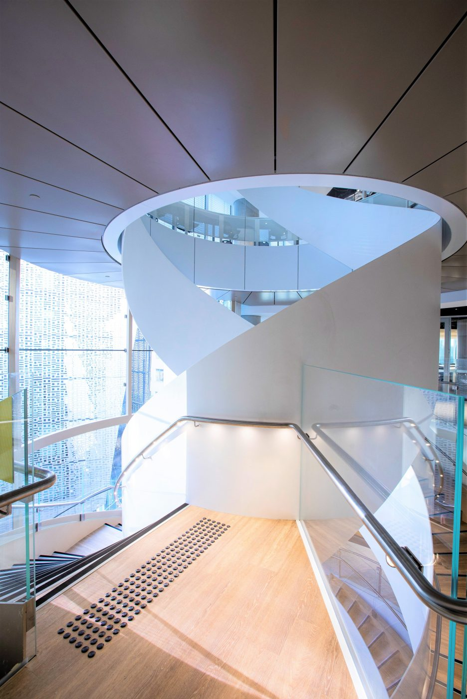 Steel Spiral Stair | UTS Central Double Helix | Active Metal 04