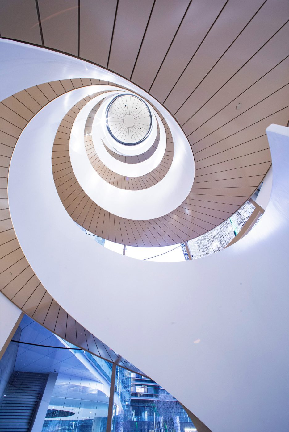 Steel Spiral Stair | UTS Central Double Helix | Active Metal 06