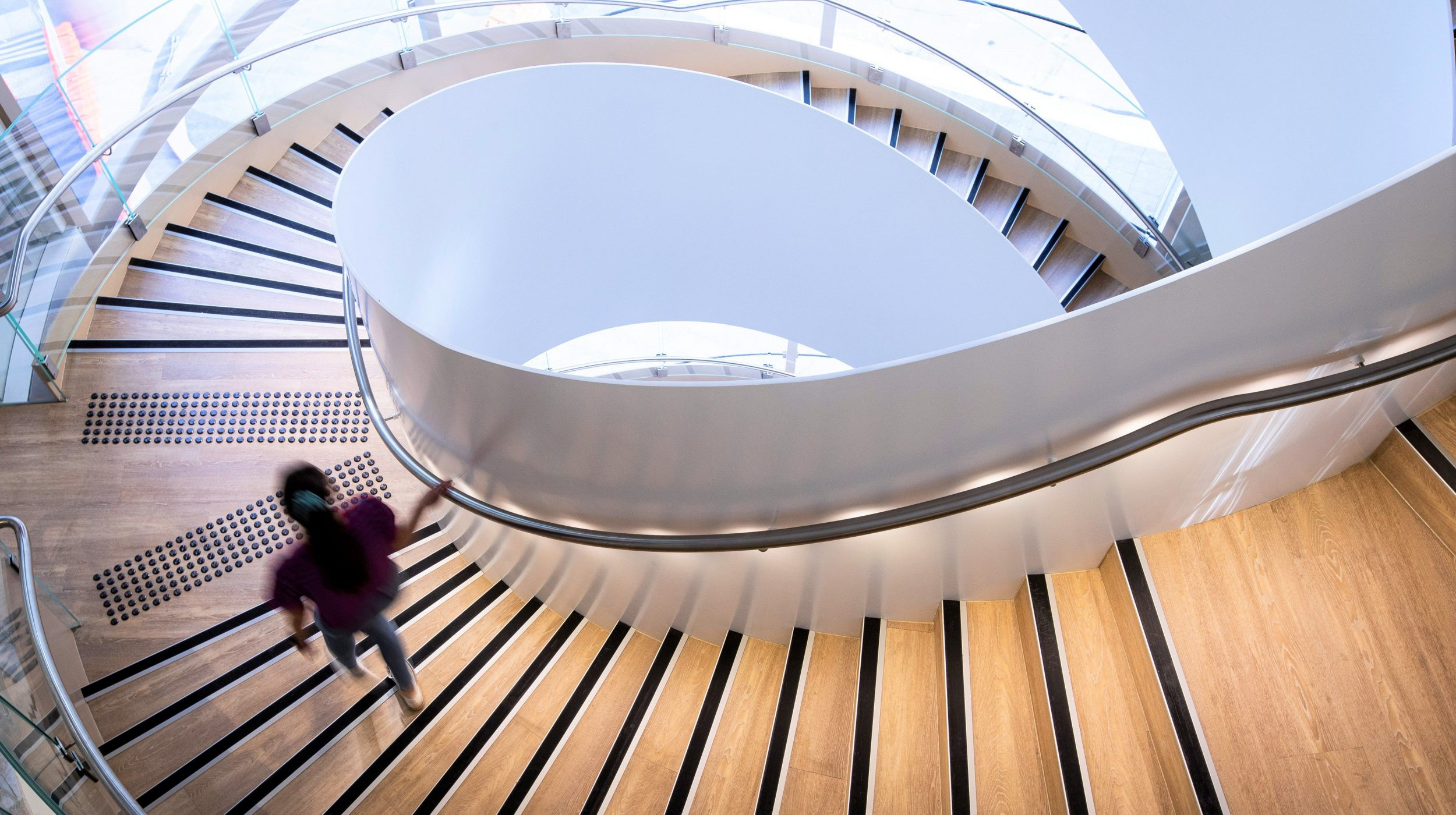 Steel Spiral Stair | UTS Central Double Helix | Active Metal 01