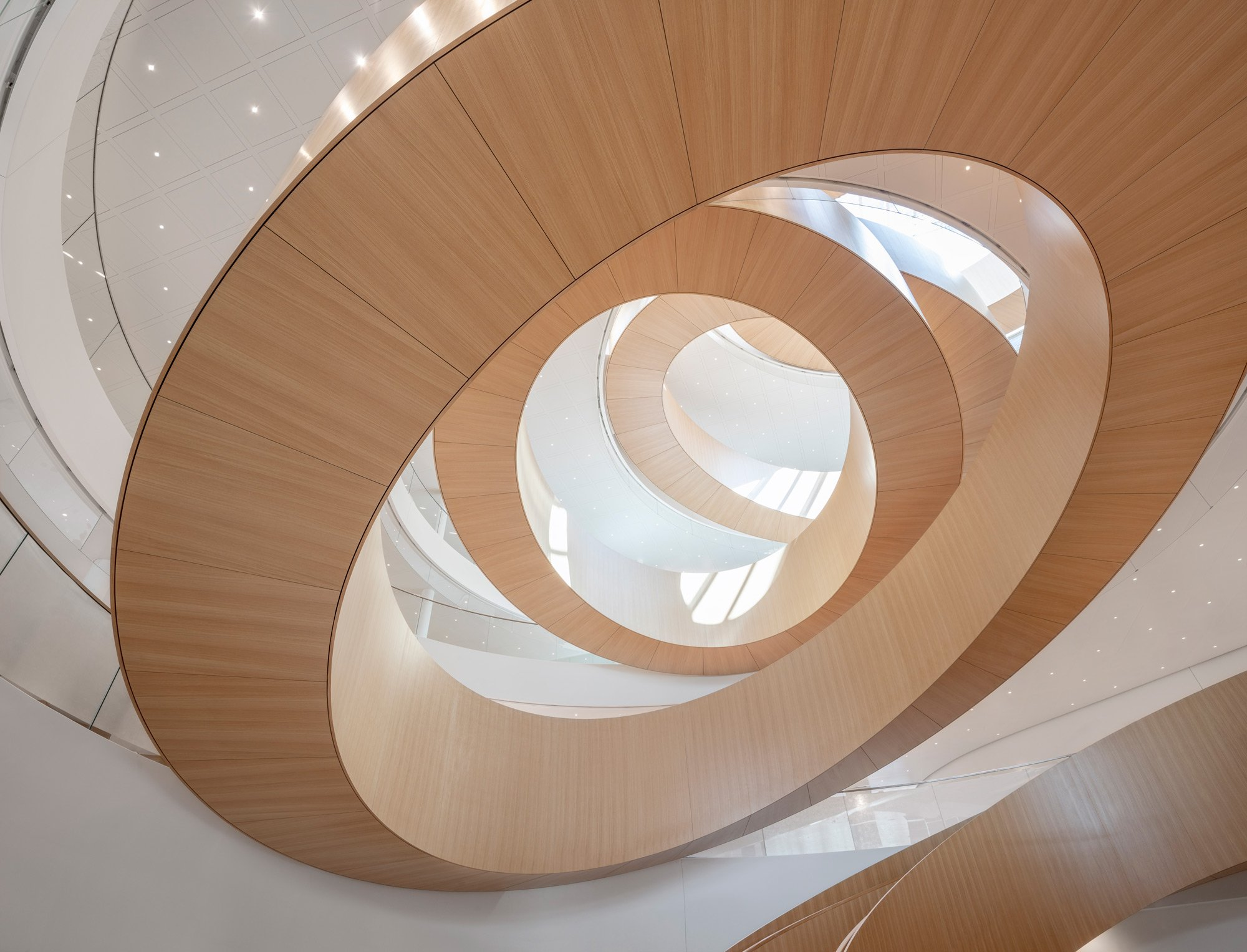Stair Inspiration: Olympic House - The Unity Staircase