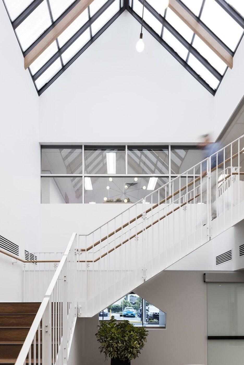 Brisbane Architectural Stair  | Brisbane Catholic Education | Active Metal 06
