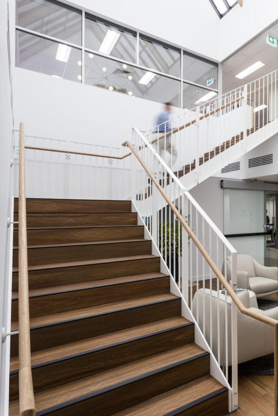 Brisbane Architectural Stair  | Brisbane Catholic Education | Active Metal 03