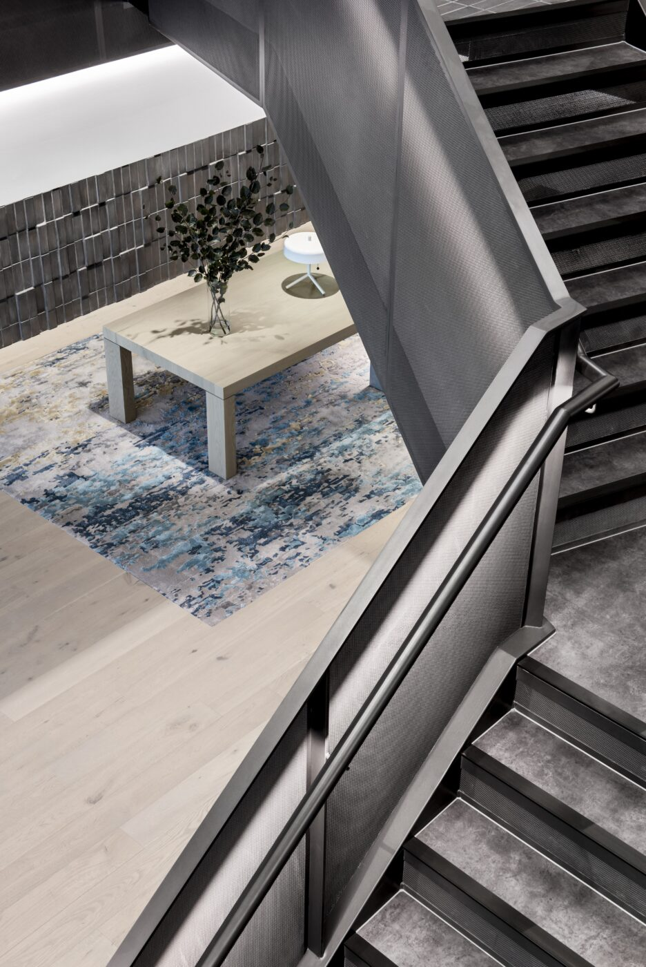 Mesh Balustrade Stair | BCG Melbourne | Active Metal 03