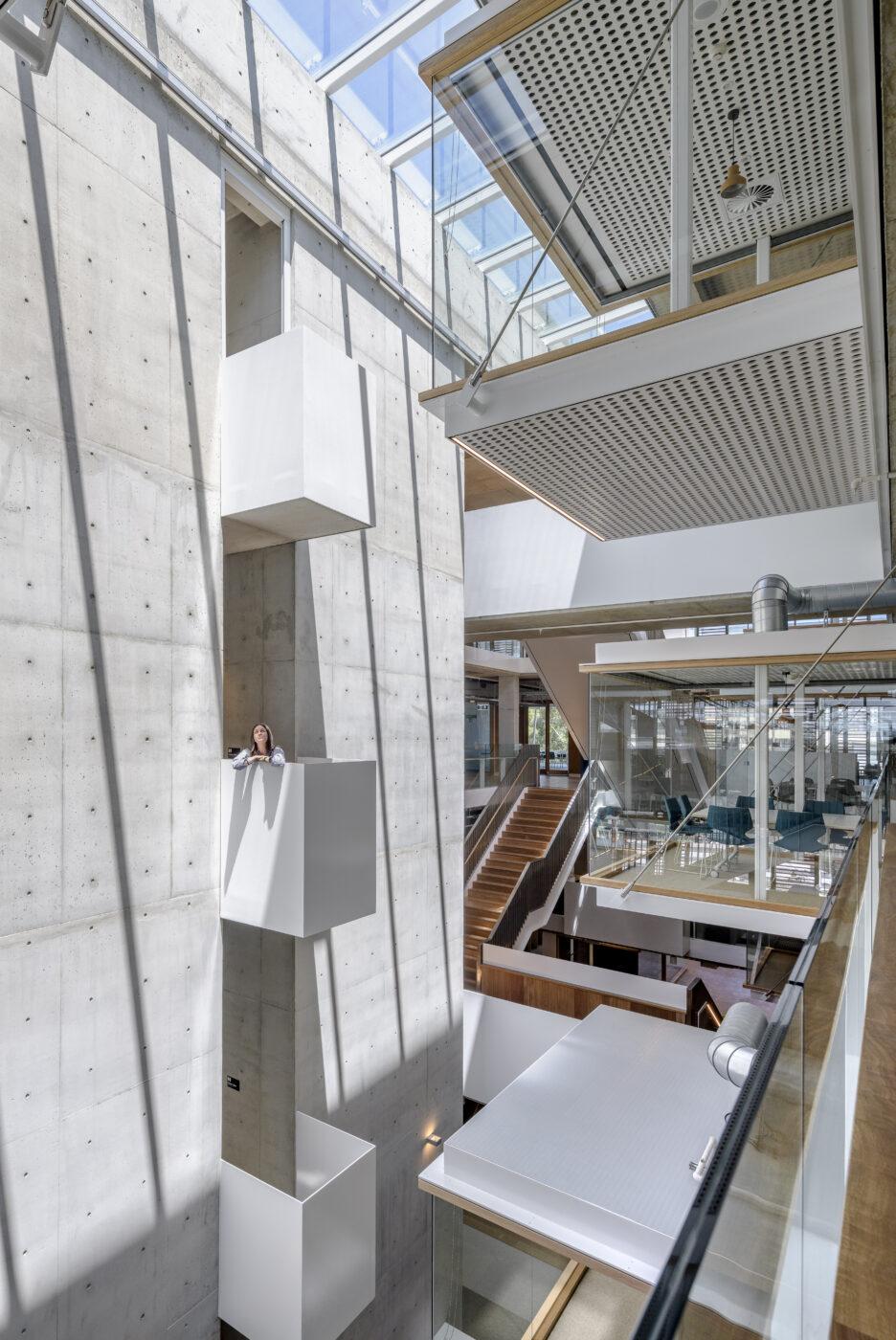 architectural stairs active metal MLC senior school 6