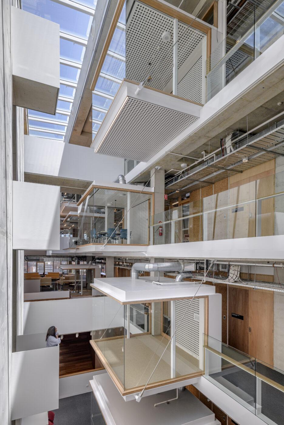 architectural stairs active metal MLC senior school 5