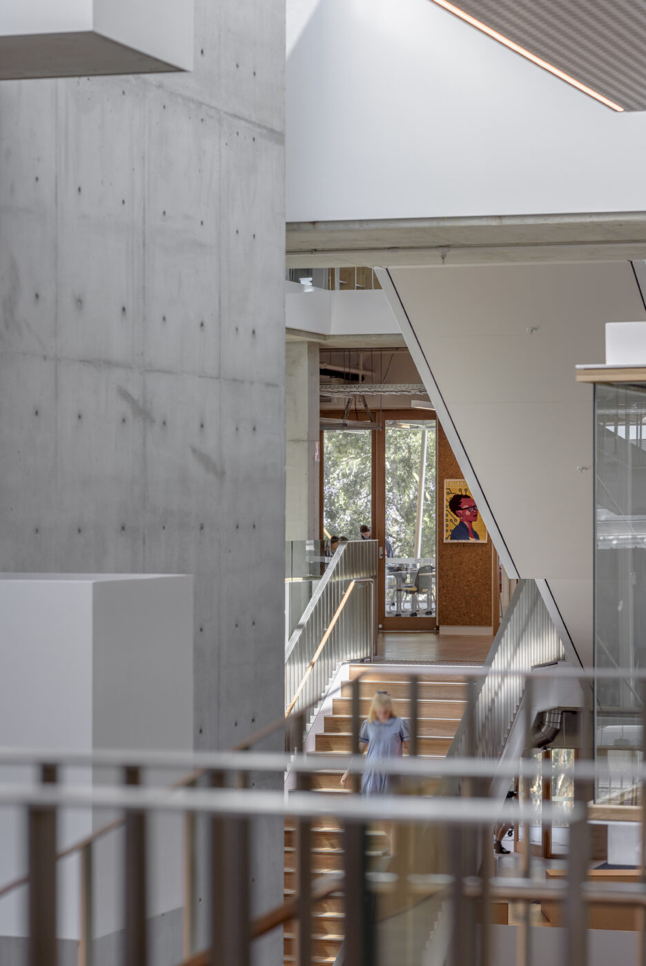 architectural stairs active metal MLC senior school 8