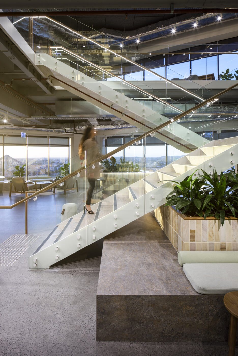 Brisbane Feature Stairs | New Hope Group | Active Metal 02