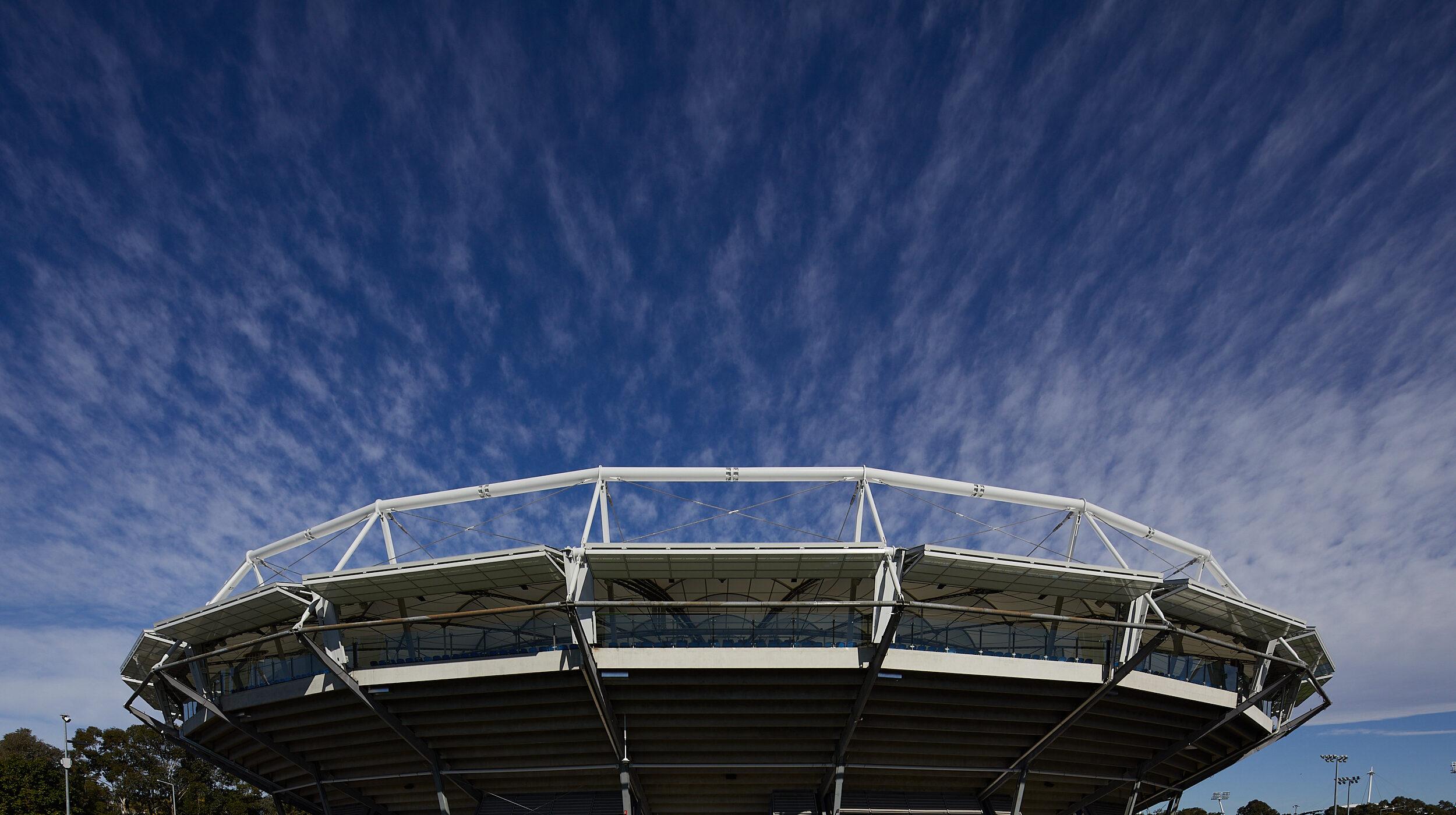 Structural Glass Balustrades | SOP Tennis Centre | Active Metal 09