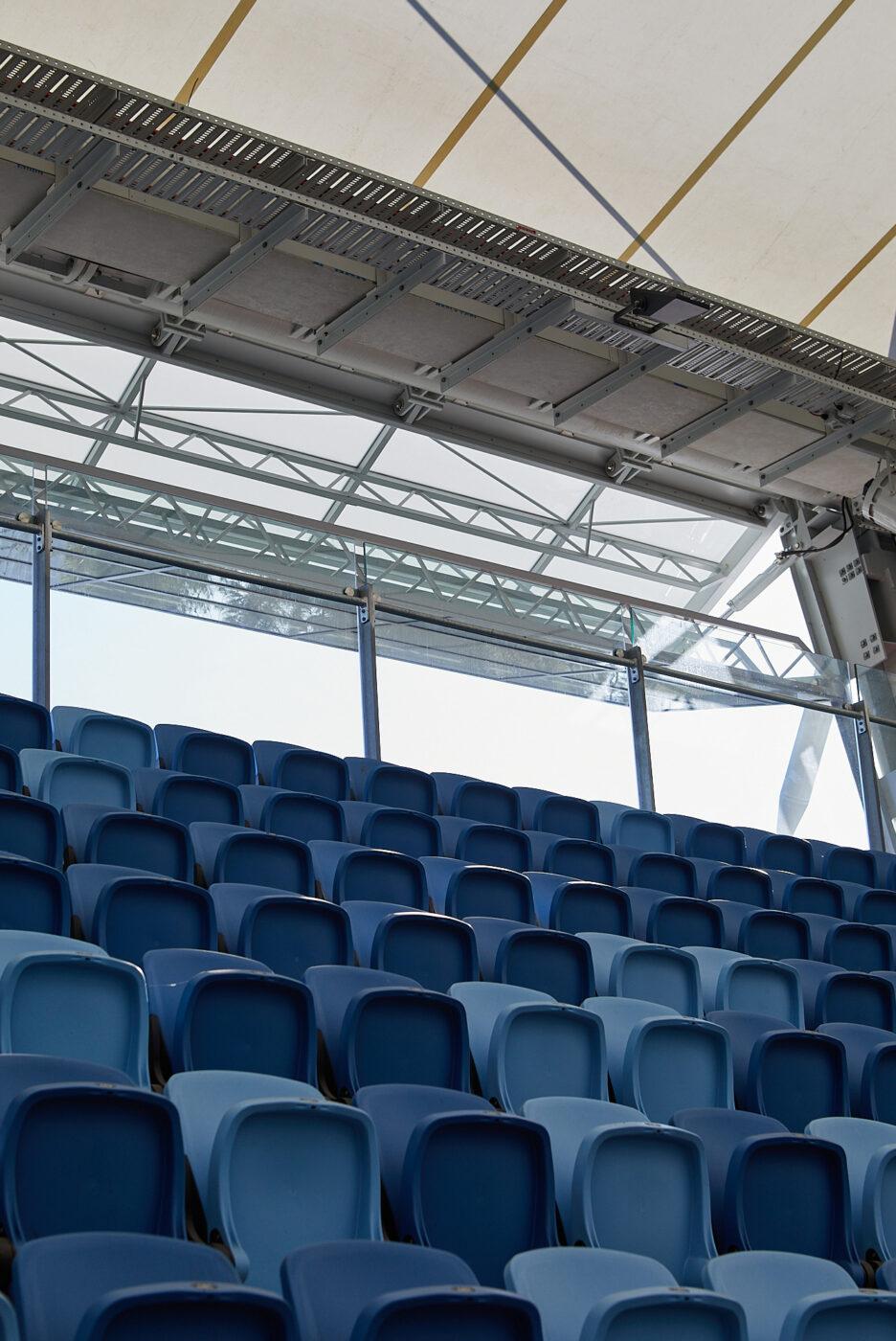 Structural Glass Balustrades | SOP Tennis Centre | Active Metal 08