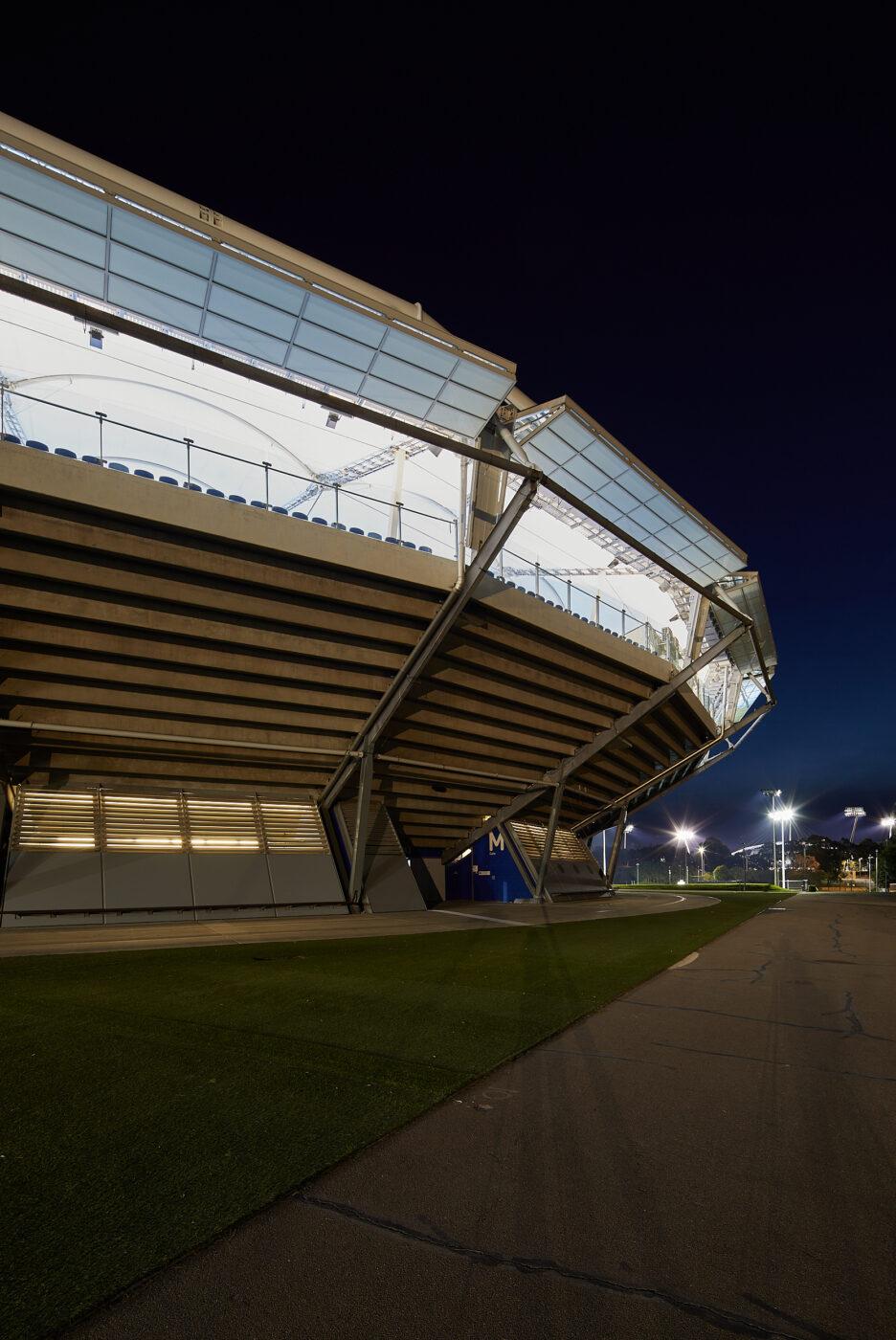 Structural Glass Balustrades | SOP Tennis Centre | Active Metal 06