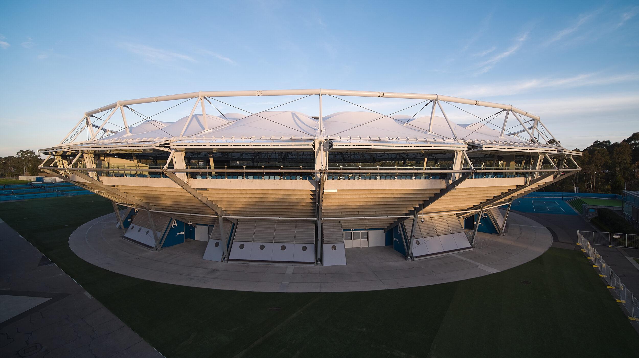 Structural Glass Balustrades | SOP Tennis Centre | Active Metal 10