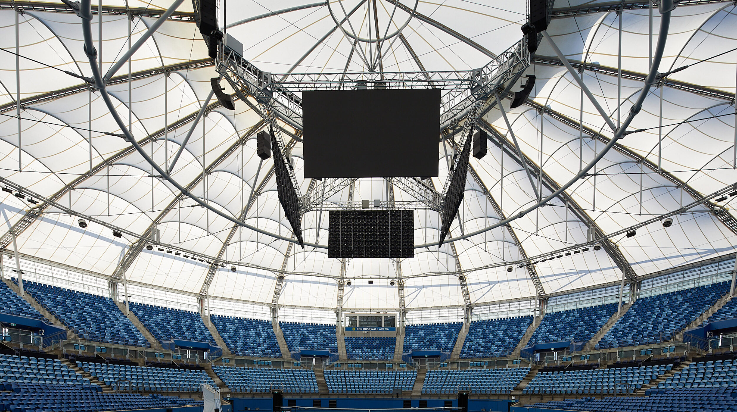 Structural Glass Balustrades | SOP Tennis Centre | Active Metal 01