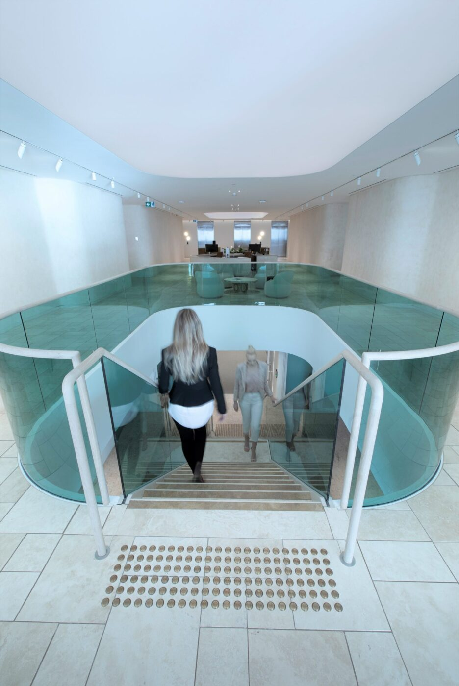 Commercial stairs | Boston Consulting Group Sydney | Active Metal 03