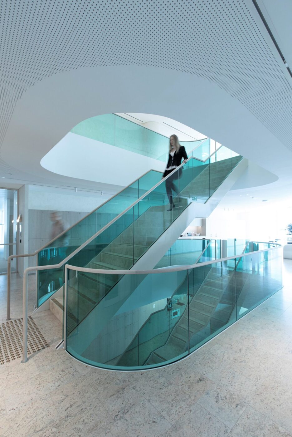Commercial stairs | Boston Consulting Group Sydney | Active Metal 02
