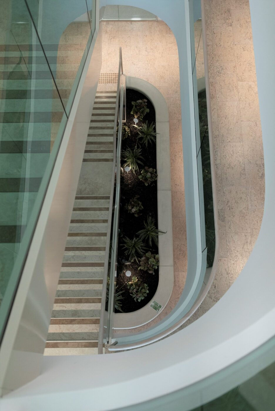 Commercial stairs | Boston Consulting Group Sydney | Active Metal 07