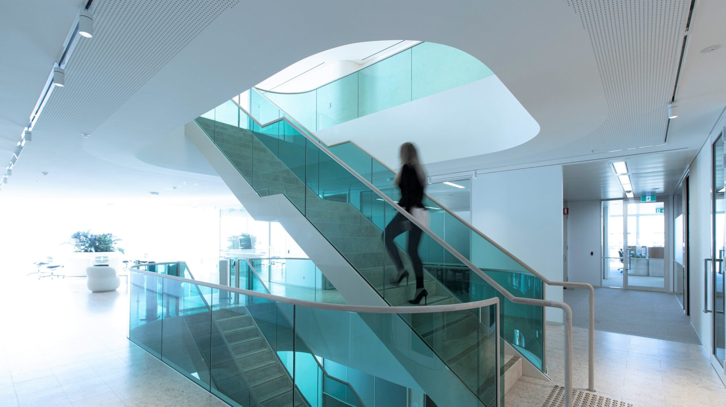 Commercial stairs | Boston Consulting Group Sydney | Active Metal 05