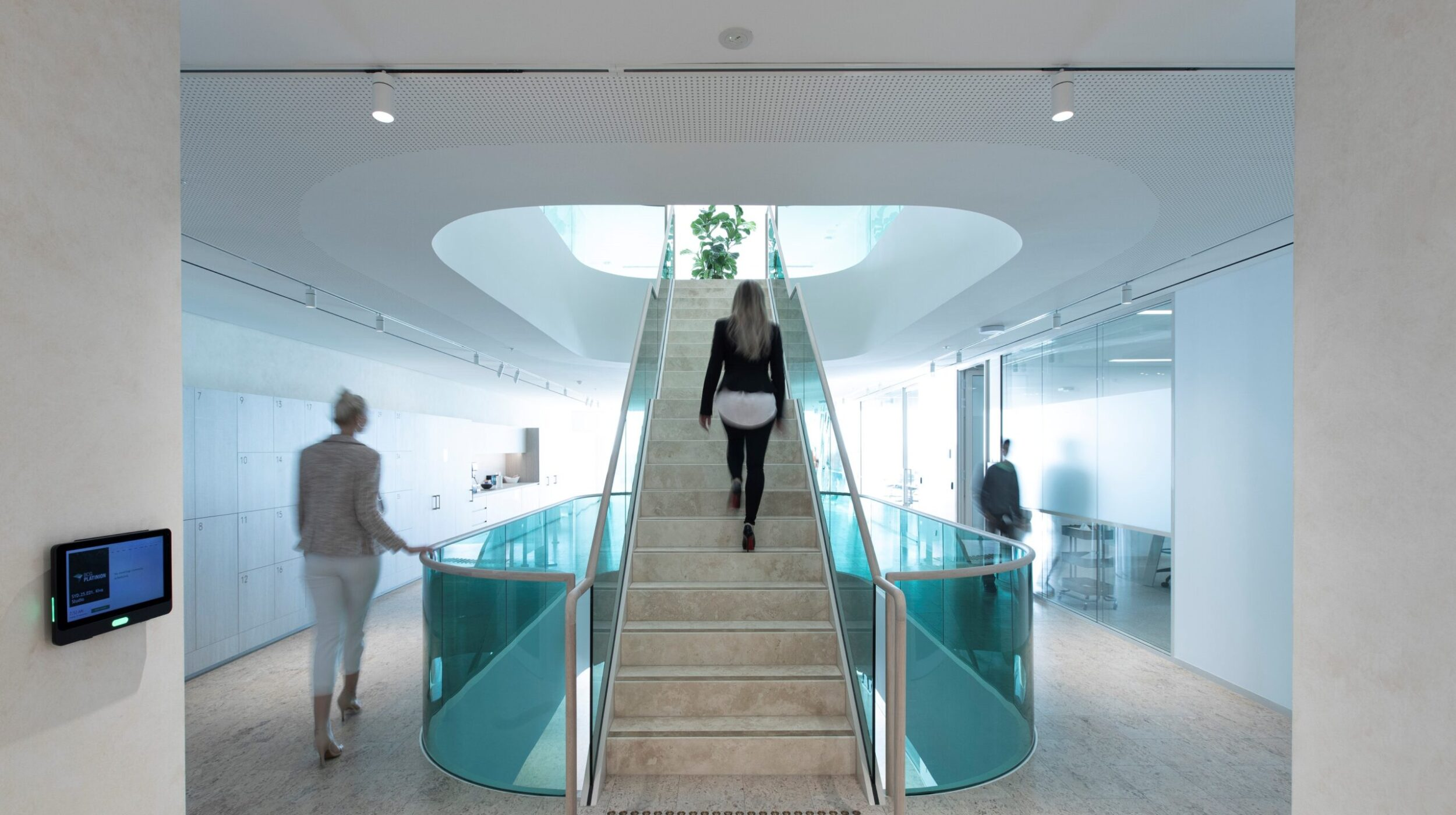 Commercial stairs | Boston Consulting Group Sydney | Active Metal 01