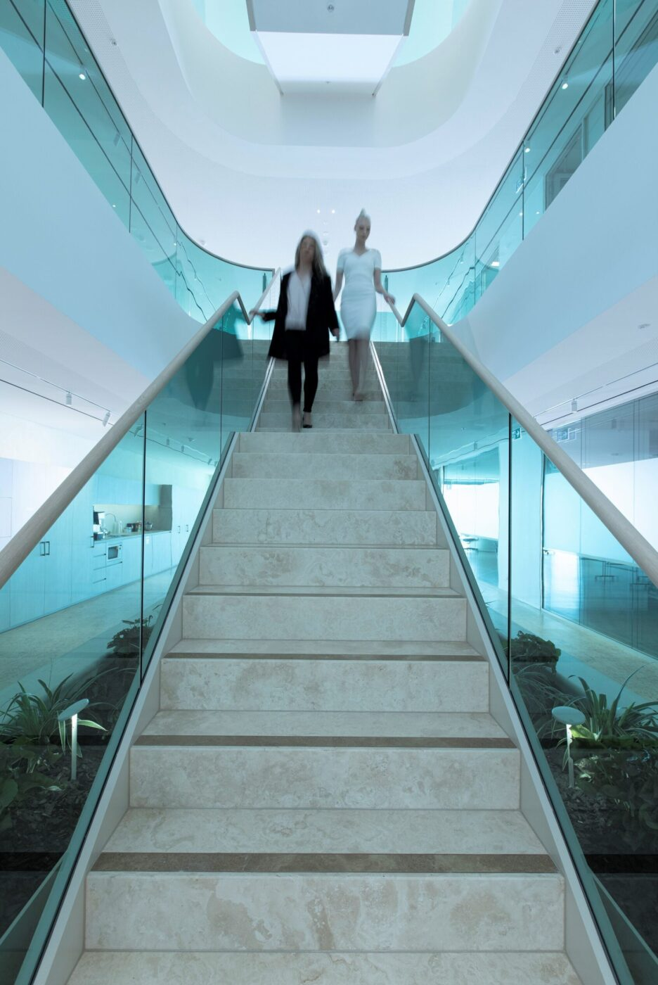 Commercial stairs | Boston Consulting Group Sydney | Active Metal 04