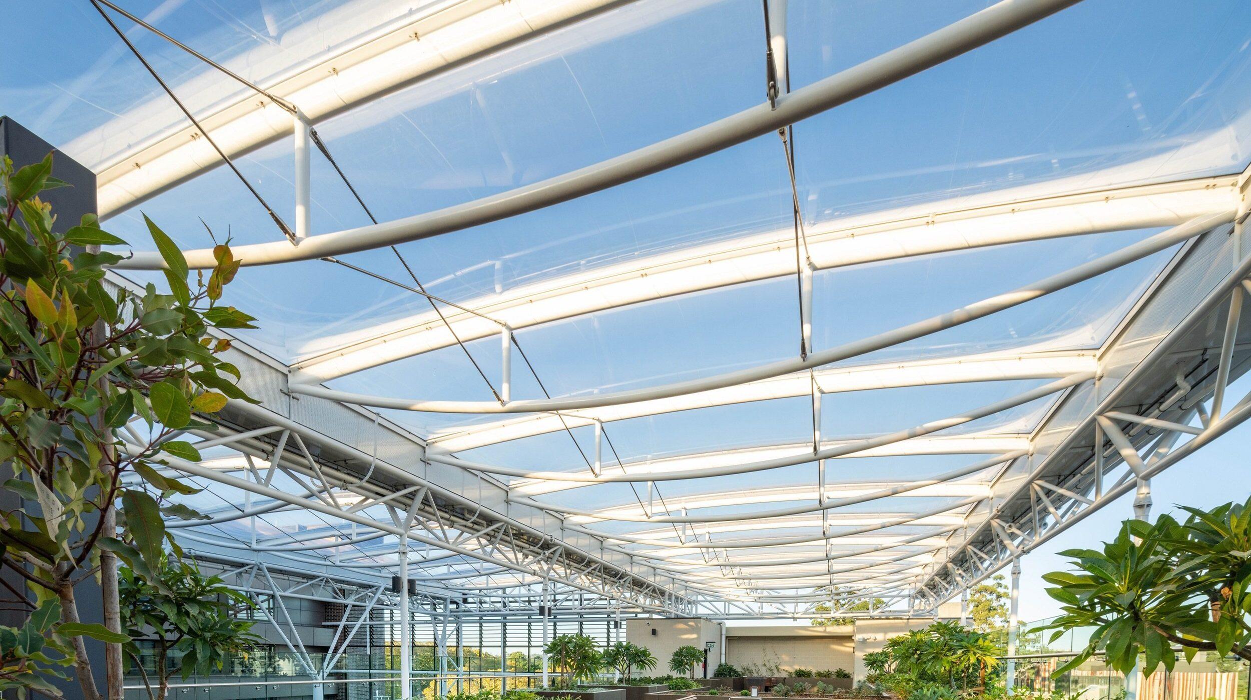 Glazed balustrades | Macquarie University | Active Metal 09