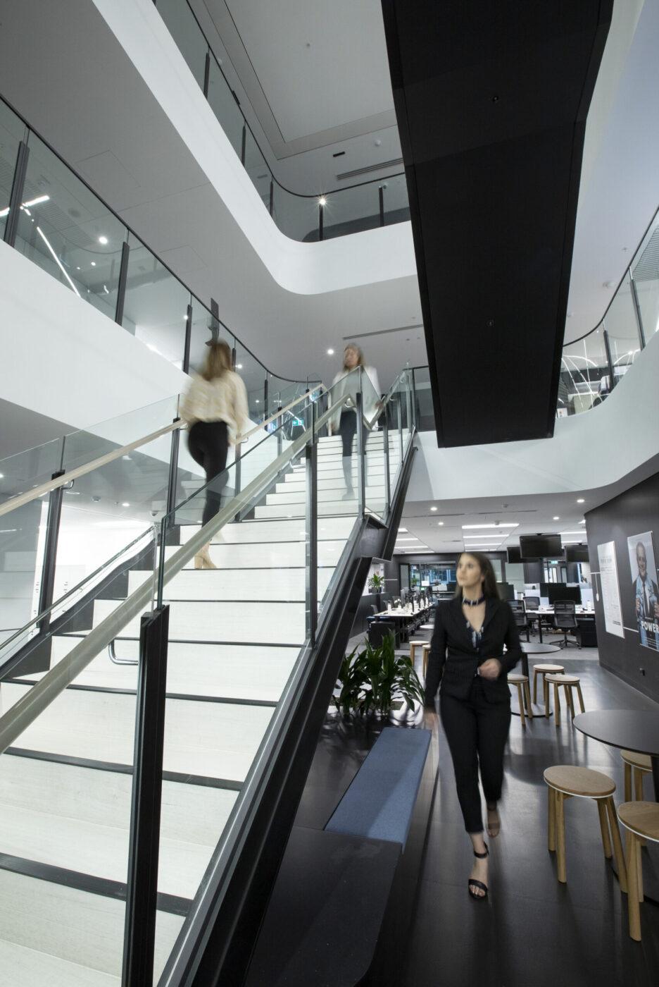 Architectural Stair Design | Nine Entertainment | Active Metal 02