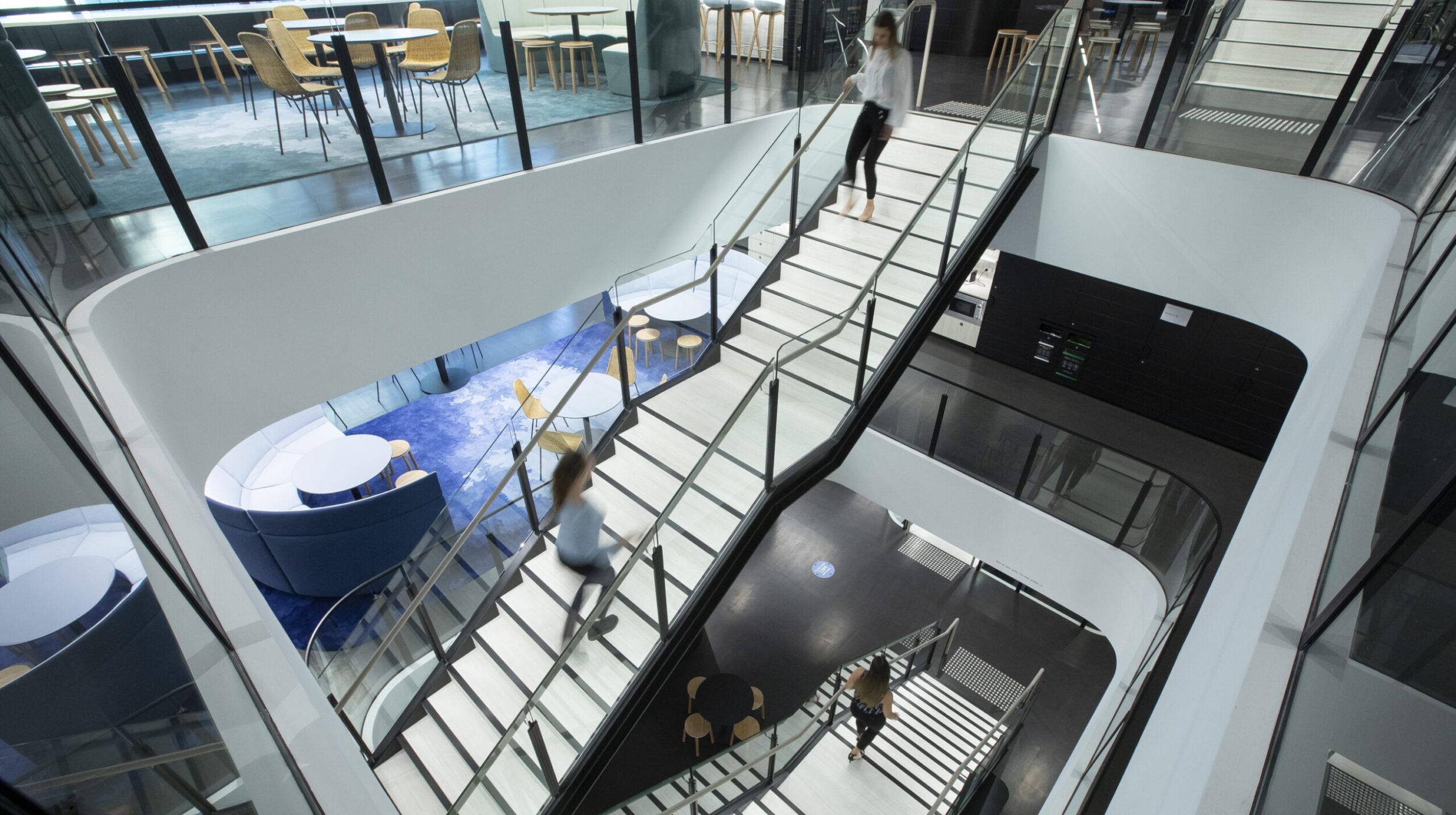 Architectural Stair Design | Nine Entertainment | Active Metal 09