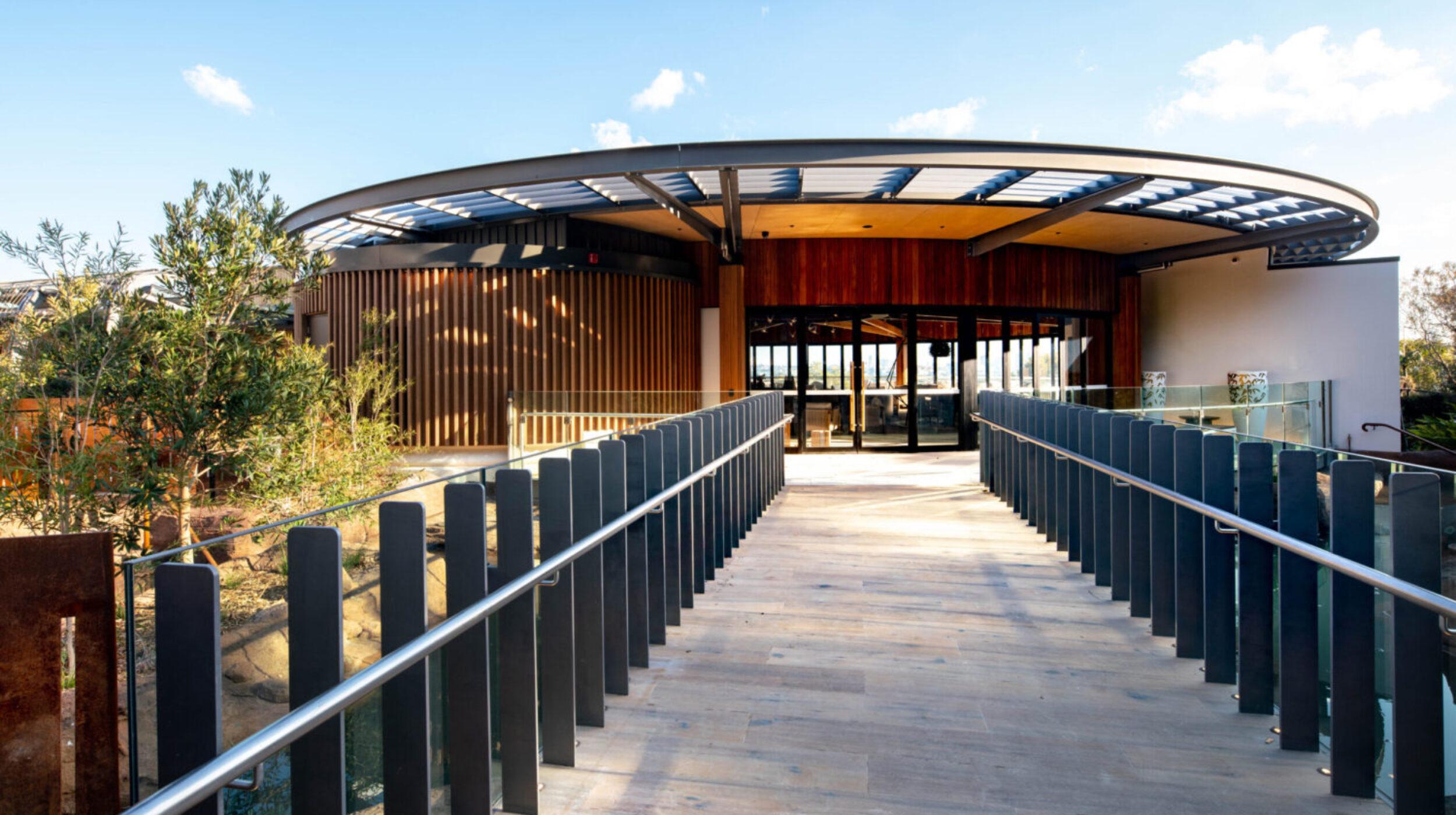 Steel Picket Balustrades | The Wildlife Retreat Taronga Zoo | Active Metal 11