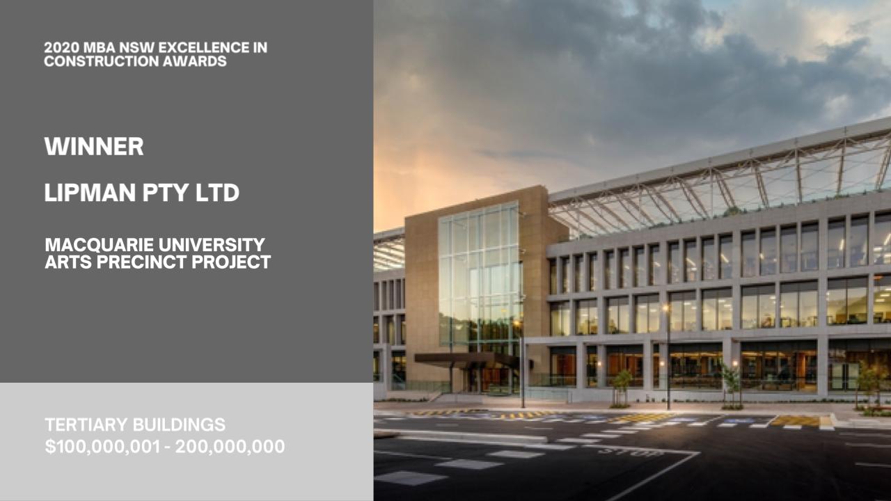 Macquarie Uni Arts Precinct - Architectural Balustrade