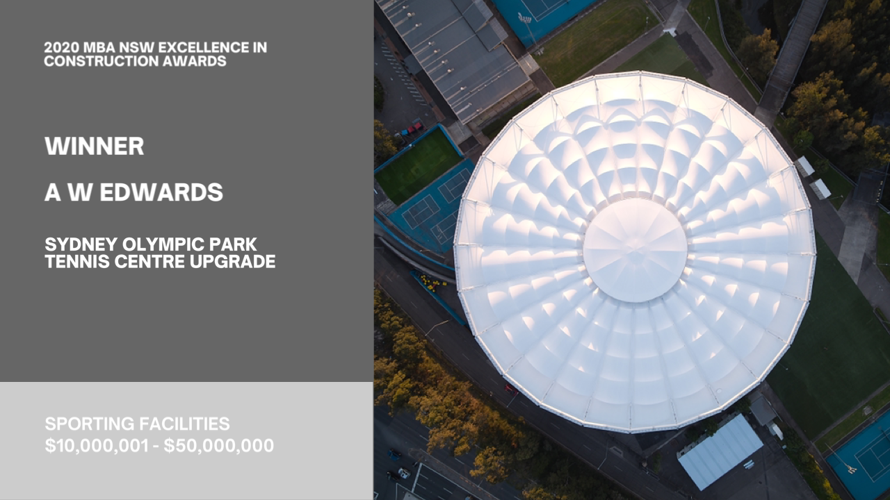 SOP Tennis Centre - Architectural Balustrade