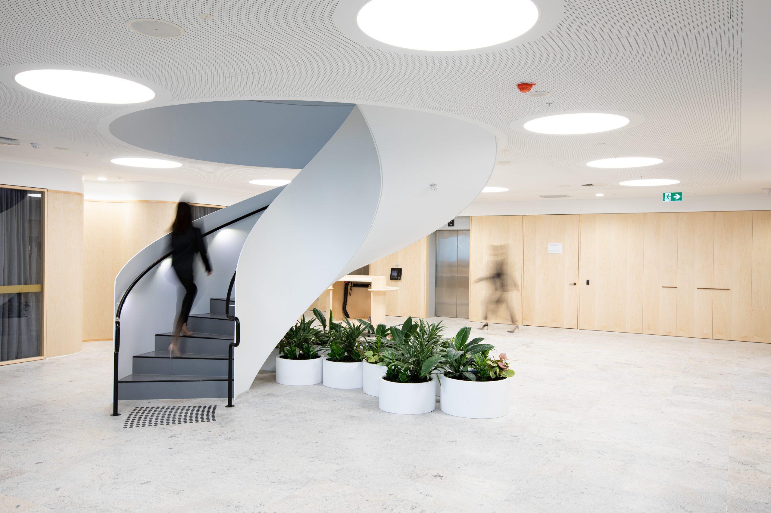 Zurich - Steel Spiral Stairs