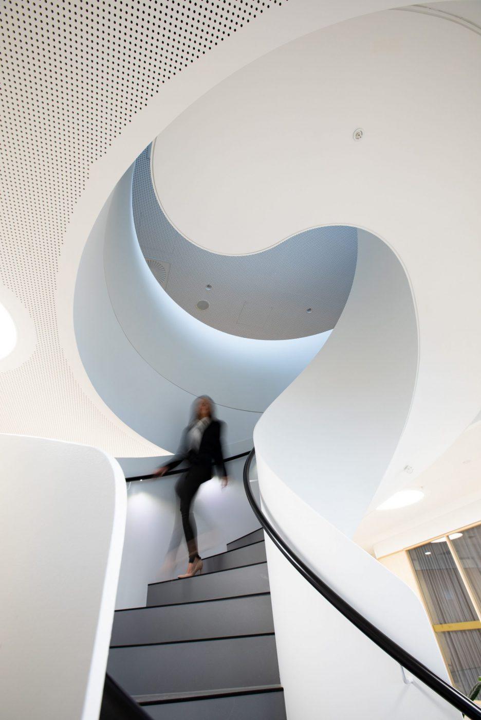 Steel Spiral Stair   Zurich North Sydney   Active Metal 04