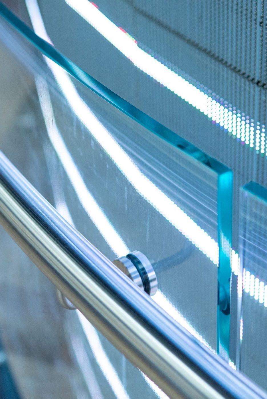 Circular stair | Genesis Studio Sydney | Active Metal 11