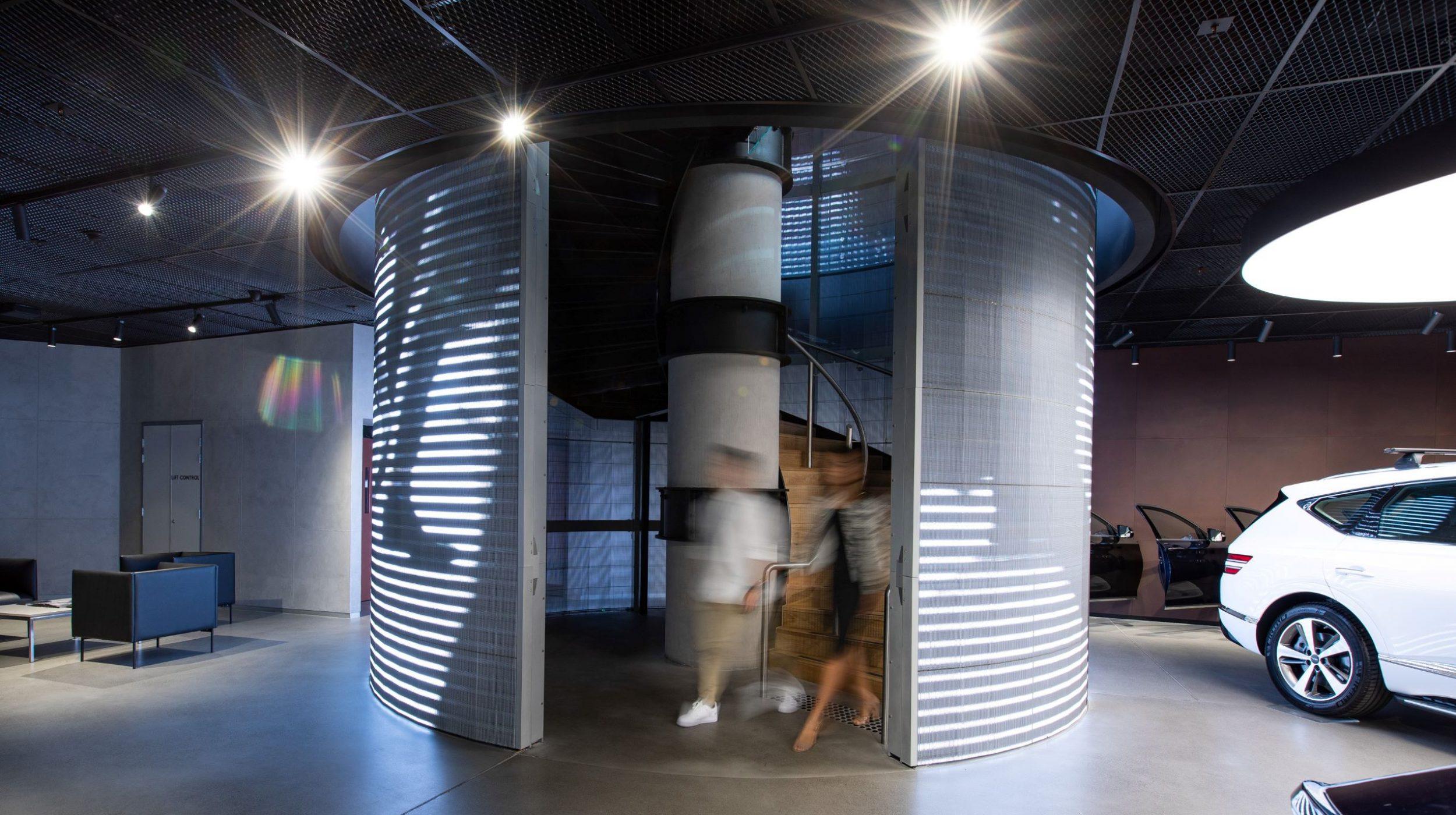 Circular stair | Genesis Studio Sydney | Active Metal 01