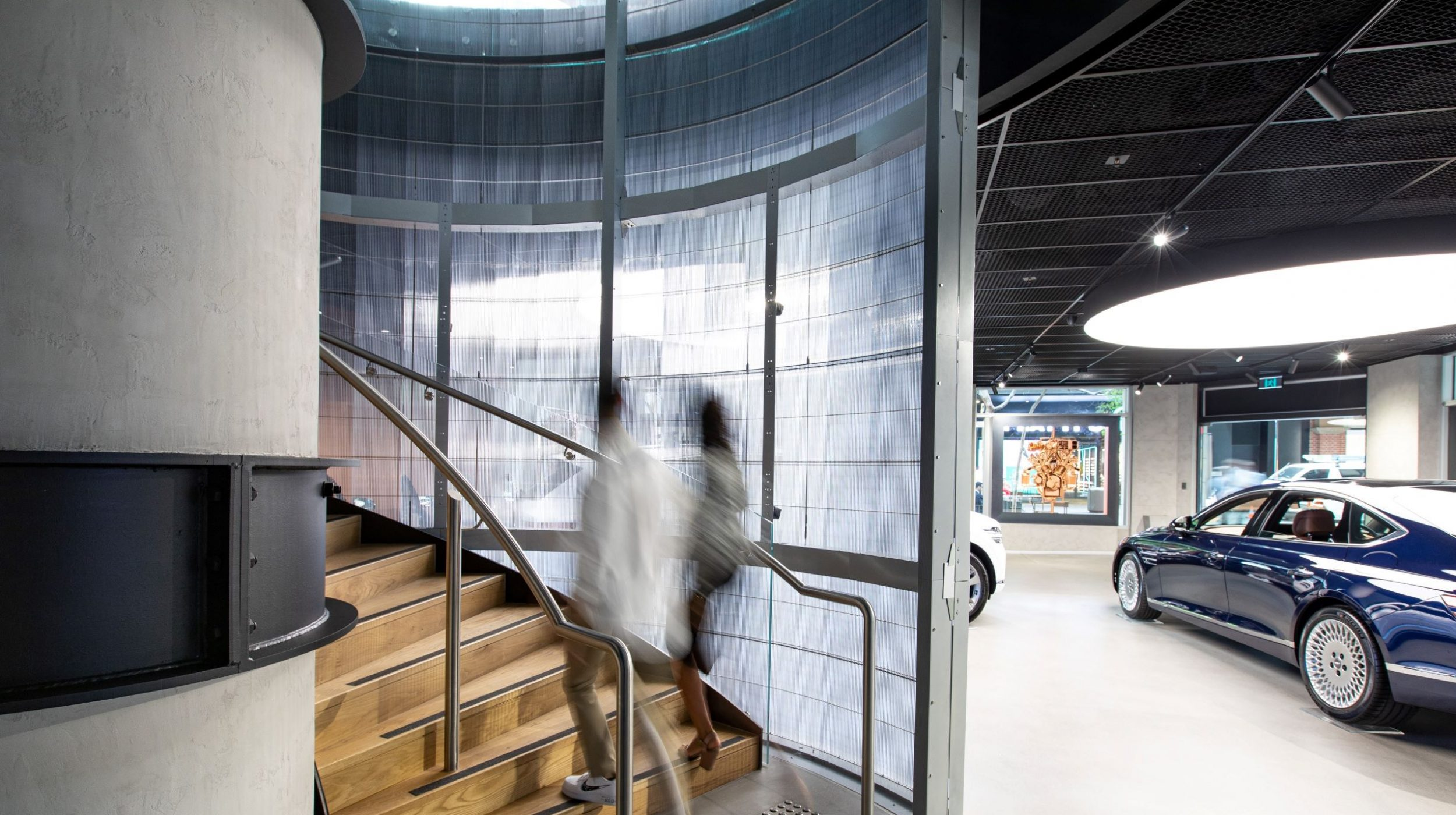 Circular stair | Genesis Studio Sydney | Active Metal 02