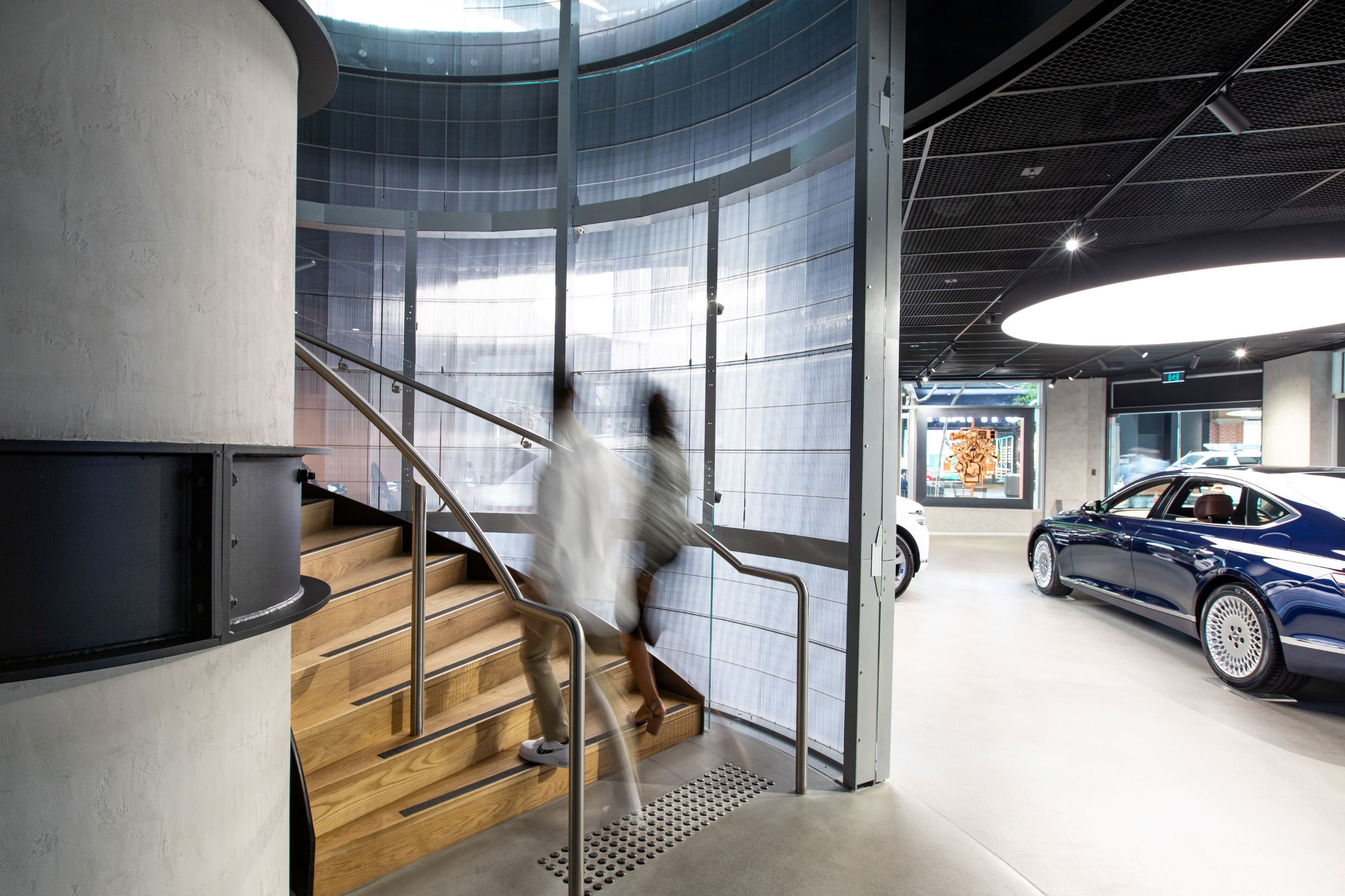 Circular Stair - Genesis Studio