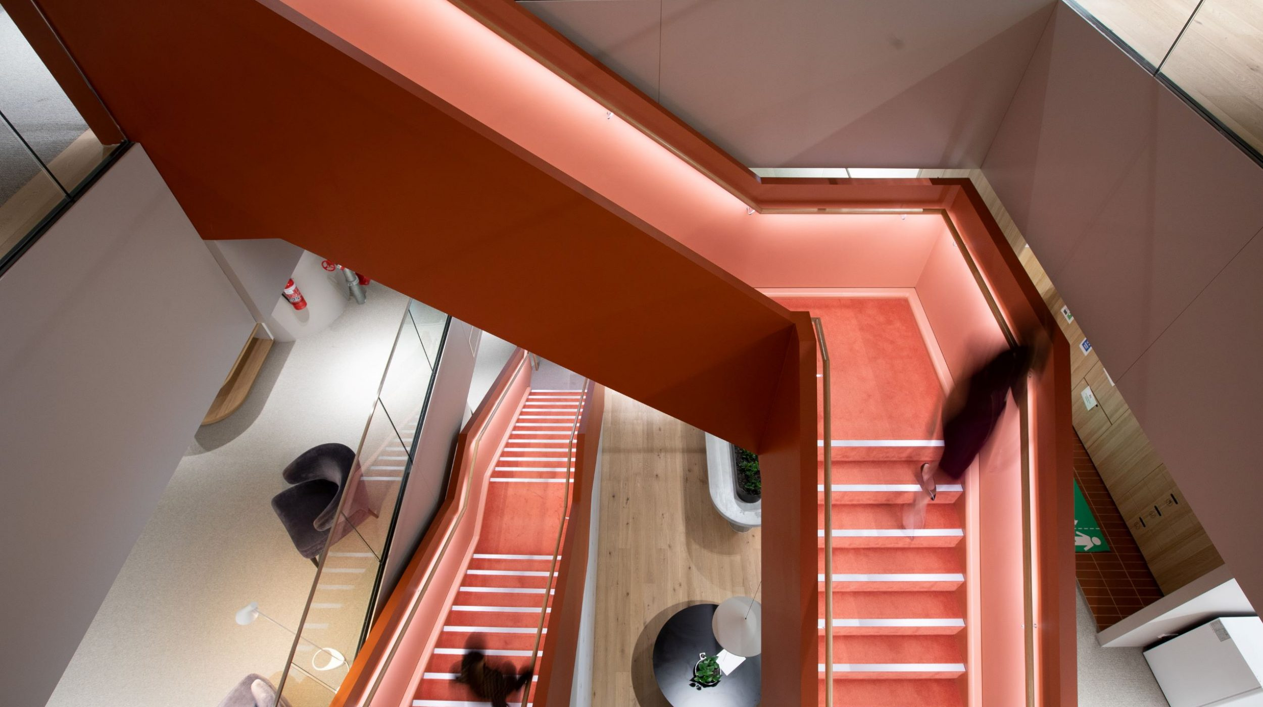 Interconnecting stairs | Norton Rose Fulbright | Active Metal 00