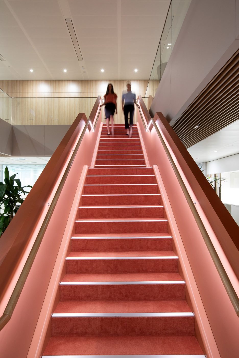 Interconnecting stairs | Norton Rose Fulbright | Active Metal 02