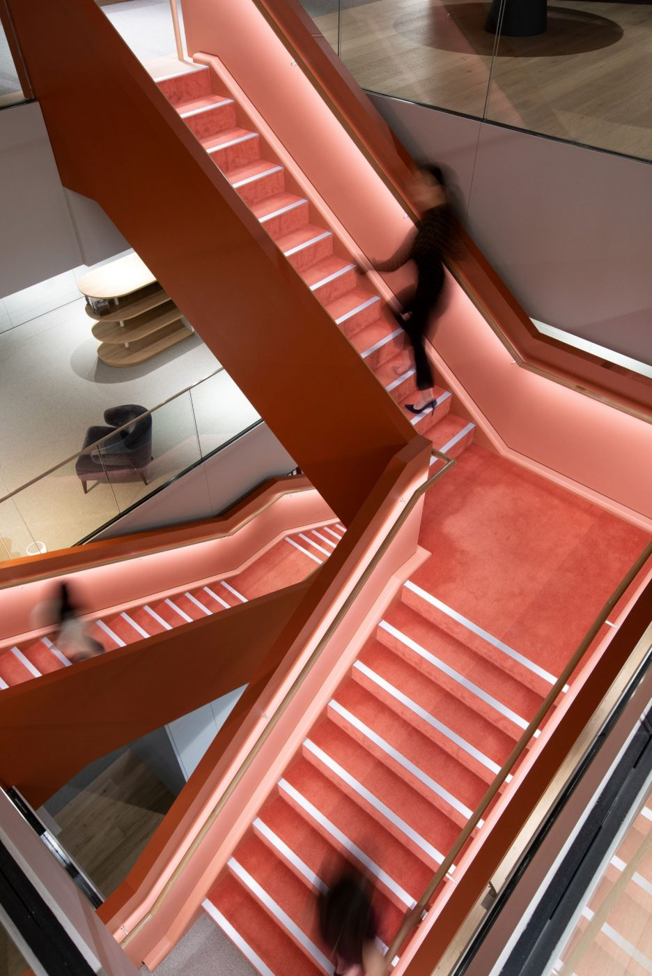 Interconnecting stairs | Norton Rose Fulbright | Active Metal 03