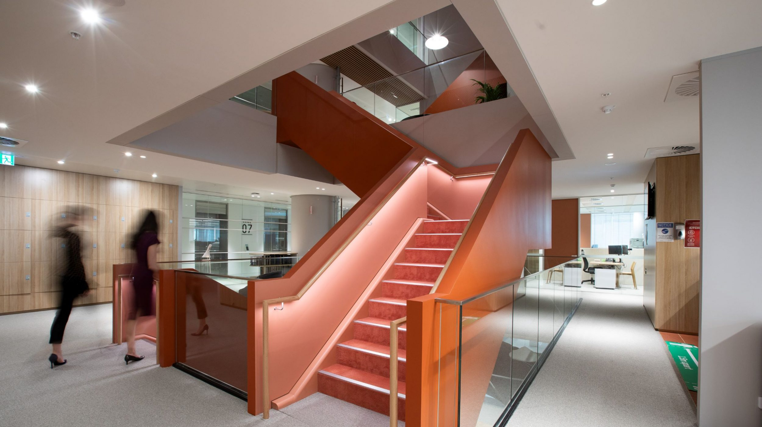 Interconnecting stairs | Norton Rose Fulbright | Active Metal 04