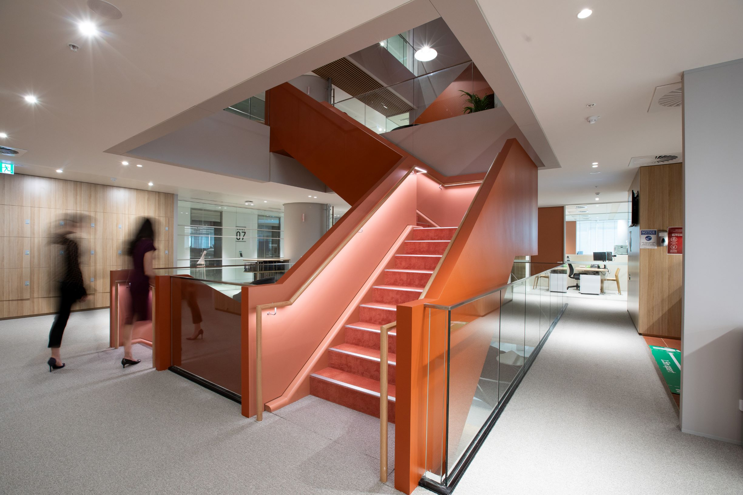 Norton Rose Fulbright Australia - Interconnecting Stairs
