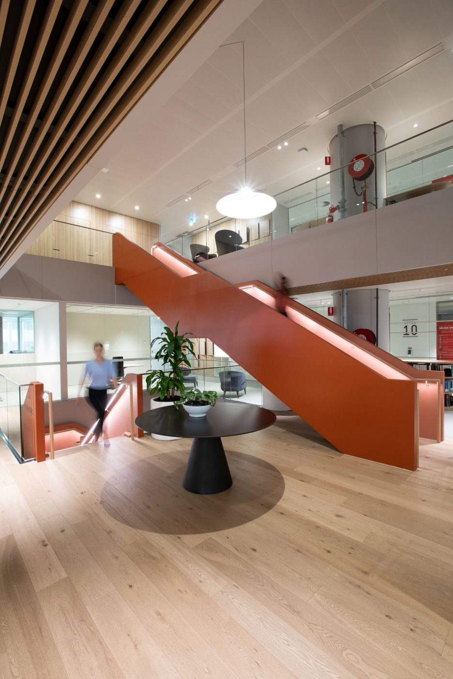 Interconnecting stairs | Norton Rose Fulbright | Active Metal 06