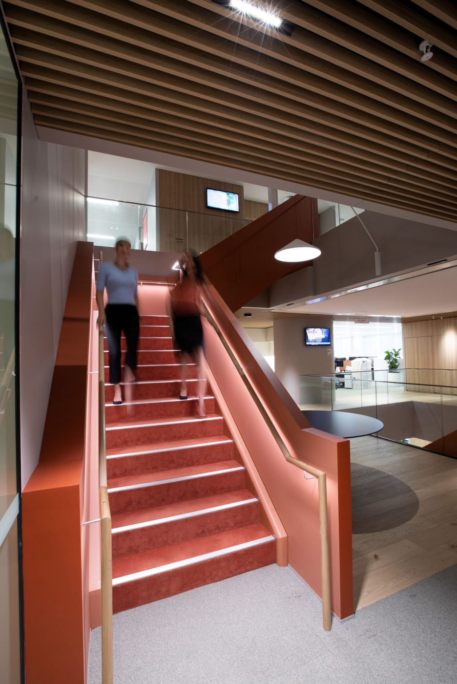 Interconnecting stairs | Norton Rose Fulbright | Active Metal 07