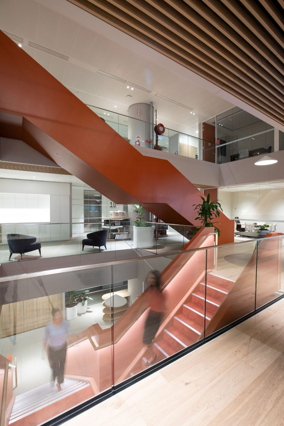 Interconnecting stairs | Norton Rose Fulbright | Active Metal 08