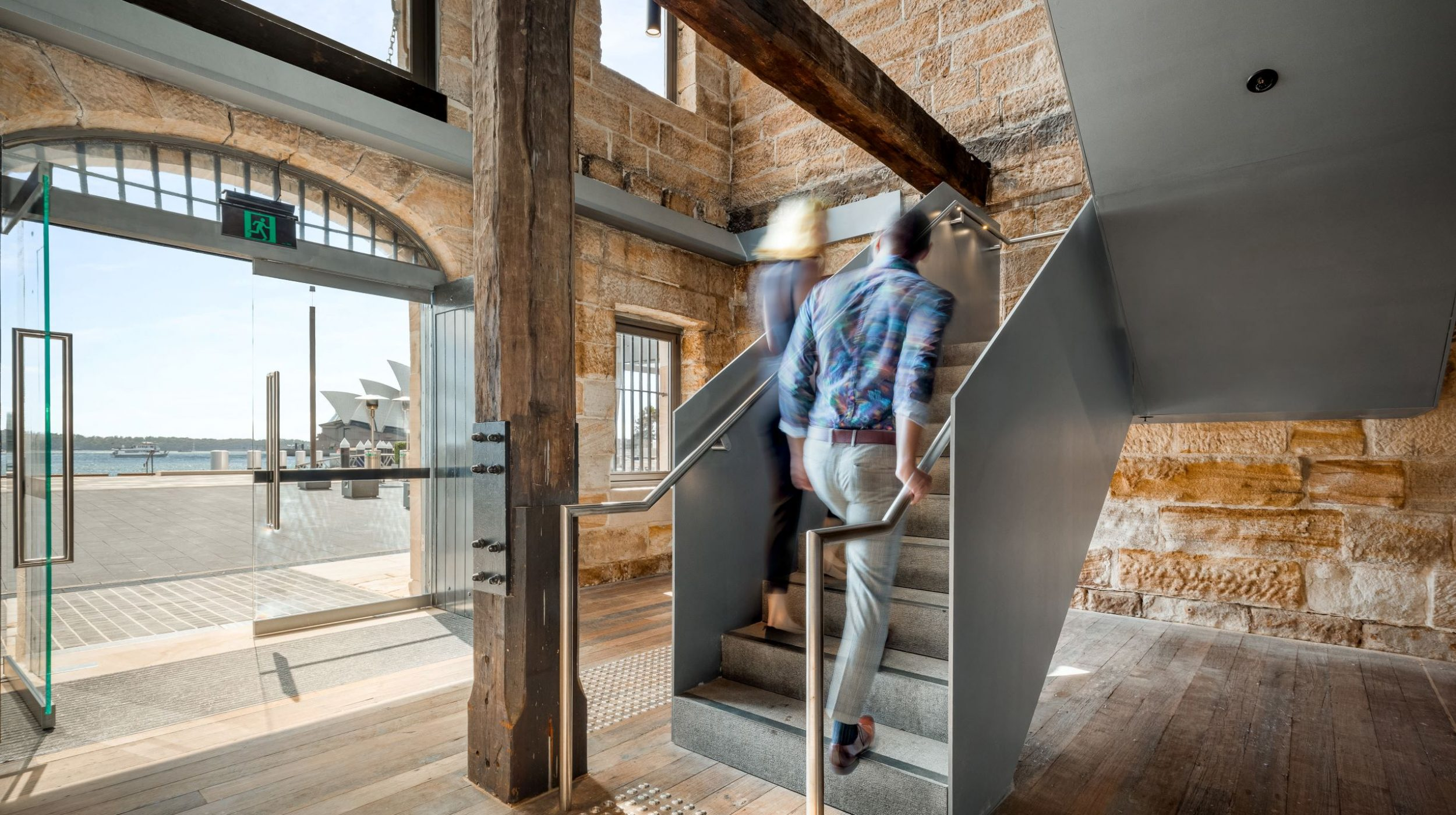 Iconic Steel Stairs | Campbells Stores | Active Metal 00